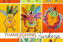 Turkey Talk / Turkey and thanksgiving activities for kindergarten.