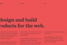 Web Design / by Jesper Winther