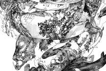 Terada sensei's art