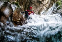 Canyoning in Montenegro / The ultimate adventure activity in Montenegro, canyoning will challenge even the most adventurous travellers. Explore the wild Montenegrin canyons as you swim, hike, jump, slide and rappel through rivers and waterfalls.