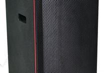 TECNARE E-15 / WIDE COVERAGE LOUDSPEAKER  2-WAY Passive speaker 1 x 15-inch LF cone, Vented box 1 x 1.4-inch HF compression driver on a CD Horn