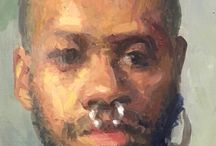 Portrait Painting / Paintings from me or anyone else that I like....