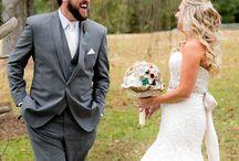 bride + groom >//<