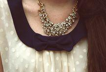 FASHION: Neck adornments