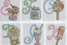 Cross-Stitch Patterns / by Christa Vosburgh