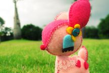 plushies: / by Ashley Mensching
