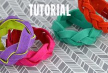 Fun Felt Tutorials / a curated collection of free tutorials using felt  / by Betz White