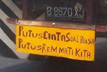 Slogan at Box Truck