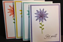 Stamping Up Flower Patch