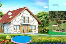 """Konkurs """"Dzień Dziecka z Tooba.pl"""" / Konkurs był organizowany z okazji Dnia dziecka. Jego celem było przerobienie i udoskonalenie naszych projektów dowolną techniką. Zobaczcie prace naszych najmłodszych architektów!"""