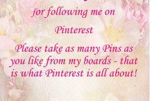 Thank you followers...