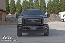 "Customer Build: 2011 Ford F350 Super Duty w/ 6"" TGC Stage 2 Suspension Lift Kit / by Top Gun Customz"