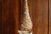 natural handmade Christmas decor / naturalne świąteczne dekoracje / Świąteczne dekoracje wykonane z naturalnych materiałów przez Gałecka Dekoracje