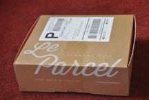 parcel service box/택배박스
