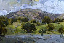 Jill barthorpe / Lovely atmospheric paintings