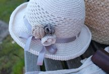 Nyári fejfedők / Szeretjük a napot a napsütést és védekezünk is ellene. Ötletek saját készítésű fejfedőkhöz!