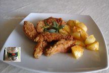 Secondi piatti di carne / secondi di carmne, pollo, maiale, etc.