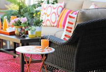 outdoor entertaining. / Inspiration for creating your best outdoor spaces and memories.