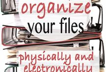 office:filing, finance paper&clutter electronic