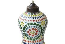 Lamps / Wide collection of lighting lamps including mosaic, jali, chandelier etc.