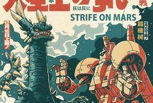 Kaijus & Monsters