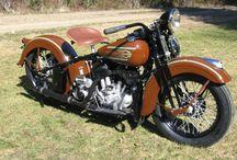 Antique Motorbikes