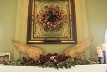 Christmas Mantel Ideas / christmas mantel, diy christmas mantel, how to decorate a fireplace for christmas, country christmas mantels, christmas tree decorating, christmas fireplace mantel, christmas mantel ideas, mantel decorating ideas for christmas, mantel decorating ideas, christmas decorating ideas for mantels, christmas mantel decorating ideas, how to decorate a mantel for christmas, fireplace christmas decorations, decorating a mantel for christmas / by AllFreeChristmasCrafts