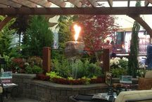 Fire & Water by Greenhaven Landscapes Inc.
