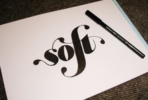 - Hand Lettering + Fonts - / Hand lettering and fonts