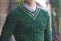 муж с свитер