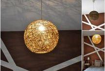 Fonal gömb lámpa