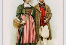 Swiss National Costume 1790