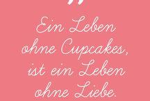 Torten- & Cupcake Zitate
