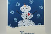 Cards-SU-Snow Day / by Debbie Forney