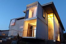Shipping Container Homes / Shipping Container Homes / by Mike Fendt