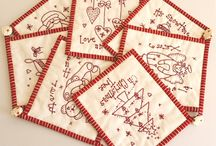 Embroidery  --  Red Work