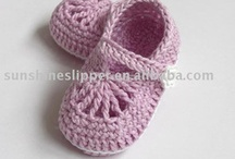 Baby shoe patterns  / Knitted and crochet patterns