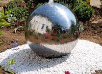 Wasserspiele u. Gartendesign wie David Harber