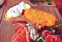 Eat healthy feel better...! / Smoked salmon, poached egg, hash brown and salad..great combination for brekky!..:)