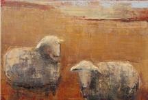 Животные на лугу