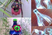 Recycling projects plastic bottles