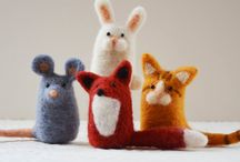Animals felted / Felt ideas for children and adults