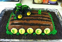 Basil 3rd bday cakes