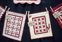 Tiny Quilts ....