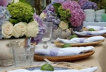 "Tablescapes / by JWS Interiors ""Affordable Luxury"" Blog"