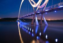 Stunning Bridges / by Dichroic GlassMan