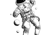 tattoo astronauta