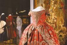 Red Coronation dress
