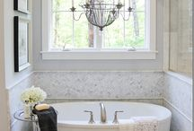 Gorgeous bathrooms
