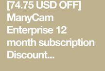 ManyCam Enterprise 12 month subscription